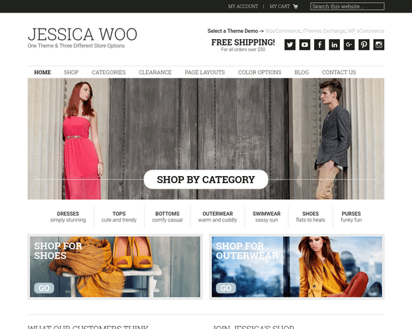 Jessica E-Commerce Theme