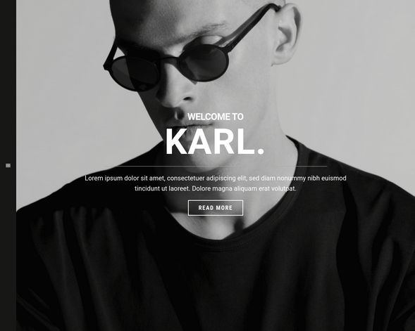 Karl Photography Theme