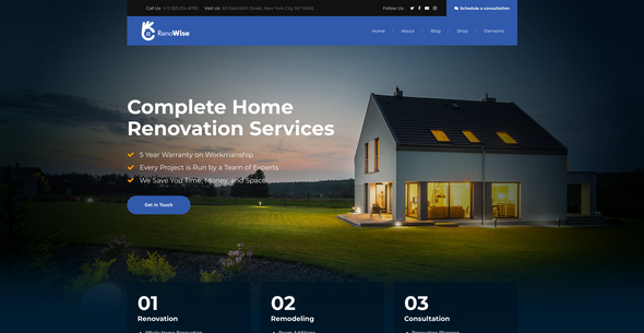Construction WP Theme Featured Image