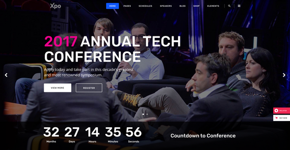 Featured Image Conference WP Themes